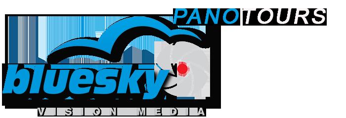 Blue Sky Pano Tours Logo